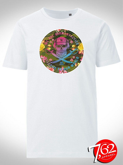 """GT FLOWER POWER"" Logo-Shirt"