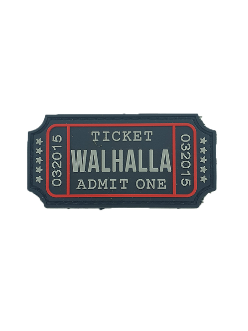 """Walhalla Ticket"" Patch"
