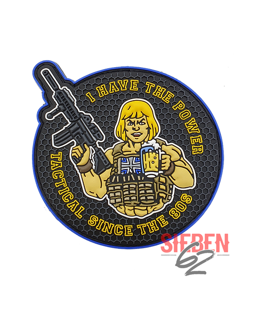 """""""I HAVE THE POWER"""" Rubber-Patch"""