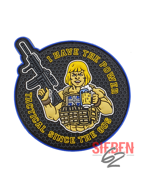 """I HAVE THE POWER"" Rubber-Patch"