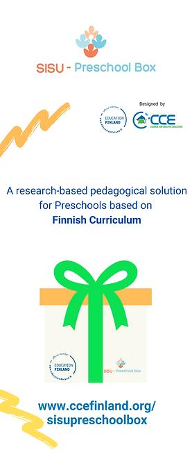 SISU Box - Finnish PreSchool in a box -