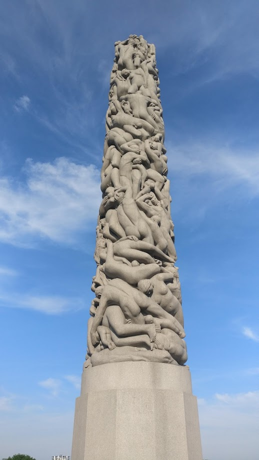 The Vigeland Park, Oslo, Norway