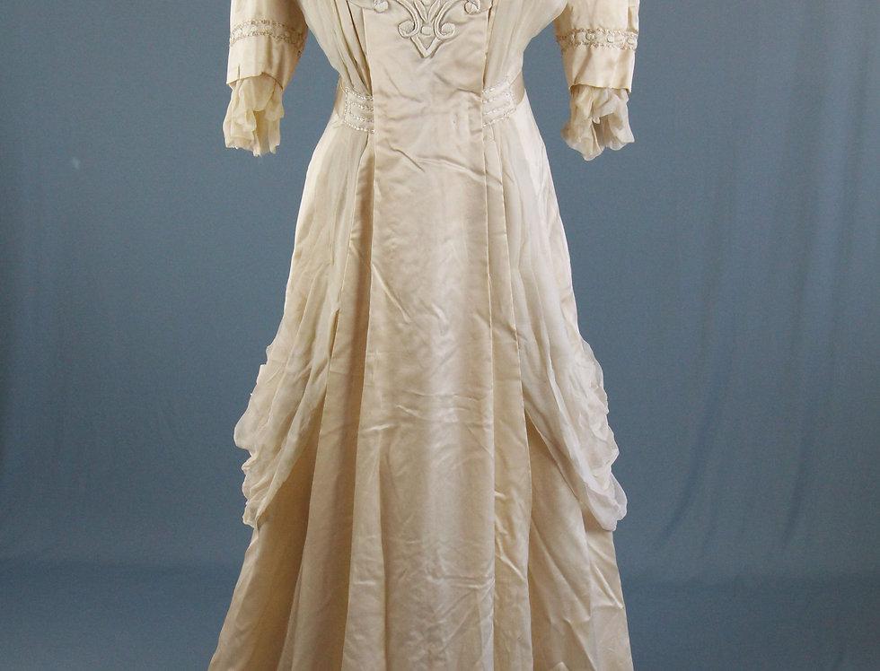 Edwardian Belle Epoque Wedding Dress