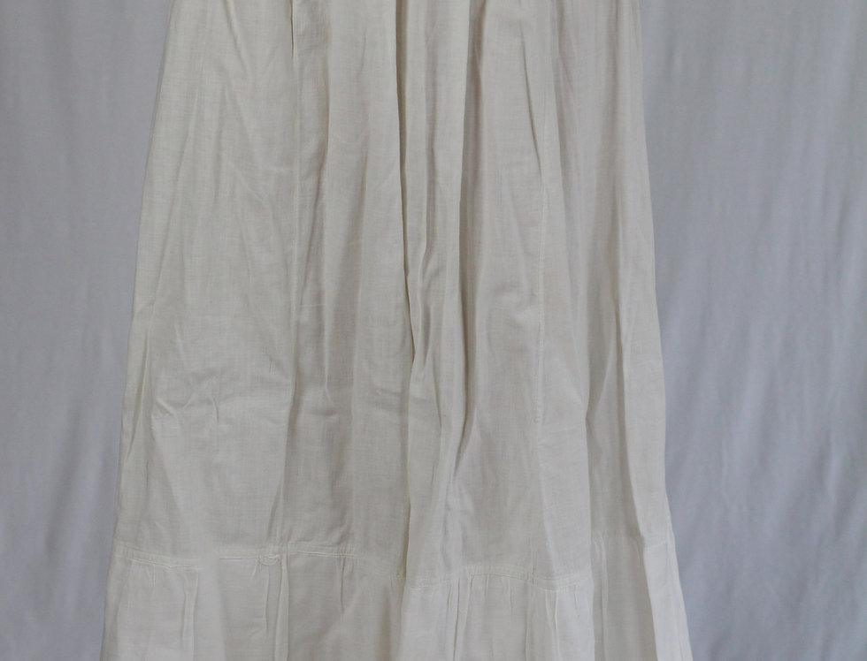 Antique Victorian Edwardian Petticoat Slip