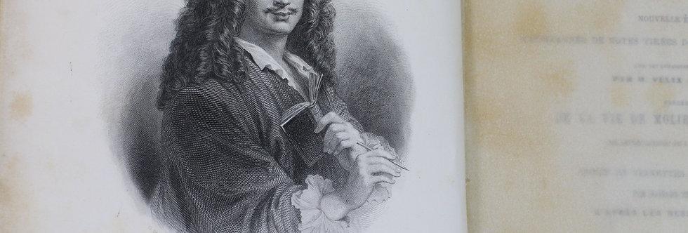 1860 Book Oeuvres complètes de Molière