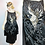 Thumbnail: Vintage 1920's Designer Couture Bird of Paradise Beaded Dress S/M