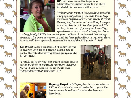 April 22 Weekly RTT News Letter