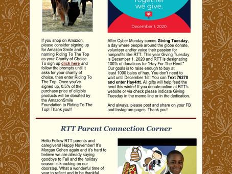 RTT Newsletter November 23  2020
