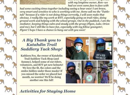 RTT Newsletter August  5th