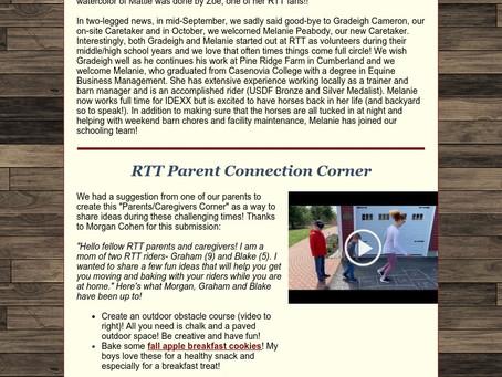 RTT Newsletter October 28  2020