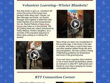 RTT Newsletter December 17 2020