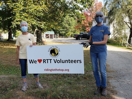 Celebrating RTT's Volunteers