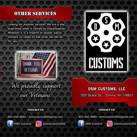 DSM Customs Brochure Outside