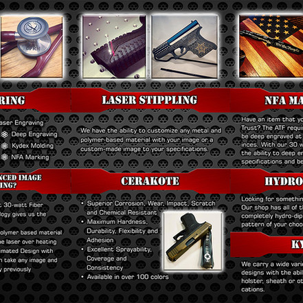 DSM Customs Brochure Inside