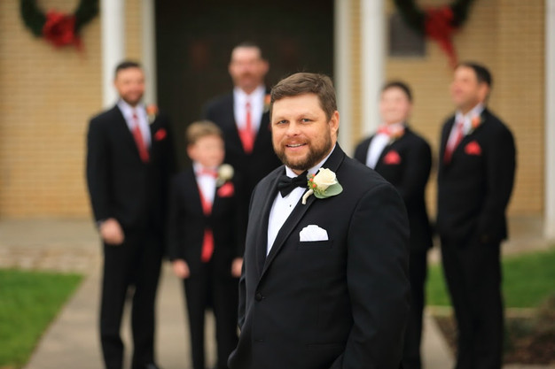 Tommy and his groomsmen