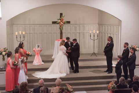A Reverent Christian Ceremony