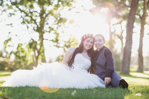 Mr & Mrs At Last!