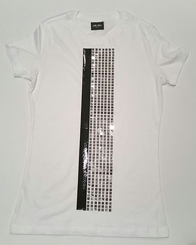 White Chrome Cubic T-Shirt.jpg