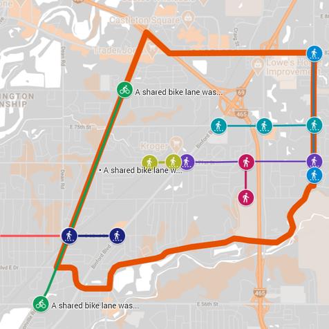 BRAG Trail Map