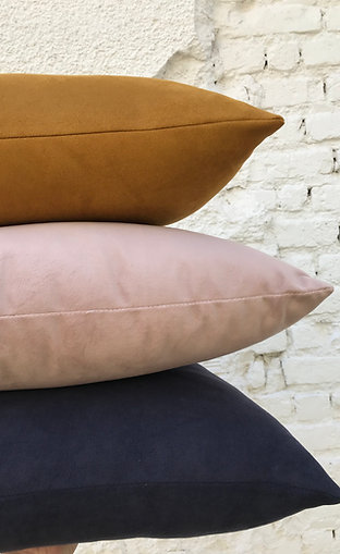 Just Pillow! Composiçã Blue Sand