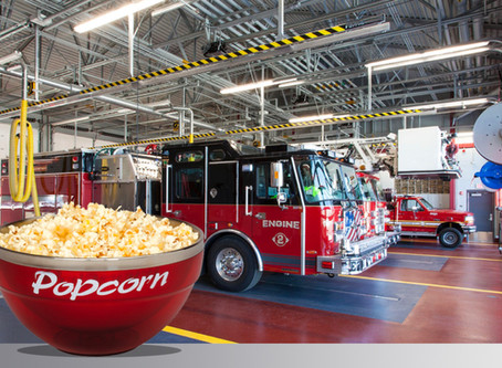 Guest Blog: The Fire Service Leader's Secret Weapon – Popcorn!!