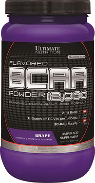 Ultimate Nutrition Flavored BCAA 12,000 Powder - 1 lb