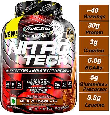MuscleTech NitroTech Performance Series - 4 lbs