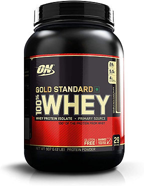 Optimum Nutrition (ON) Gold Standard 100% Whey Protein Powder - 2 lbs