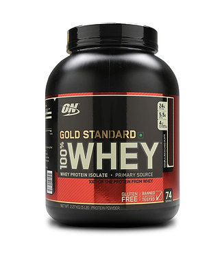 Optimum Nutrition (ON) Gold Standard 100% Whey Protein Powder - 5 lbs