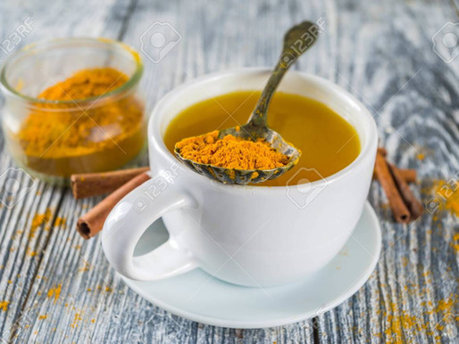 Turmeric Black Pepper Tea - Aids Weight Loss & Digestion