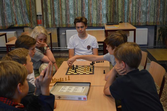 Winnaars schaaktornooi