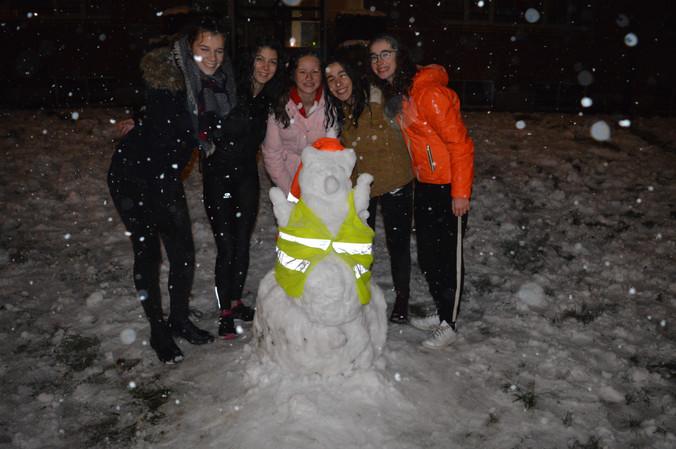 Dolle sneeuwpret