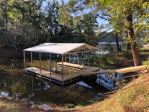 boat dock builder lufkin tx