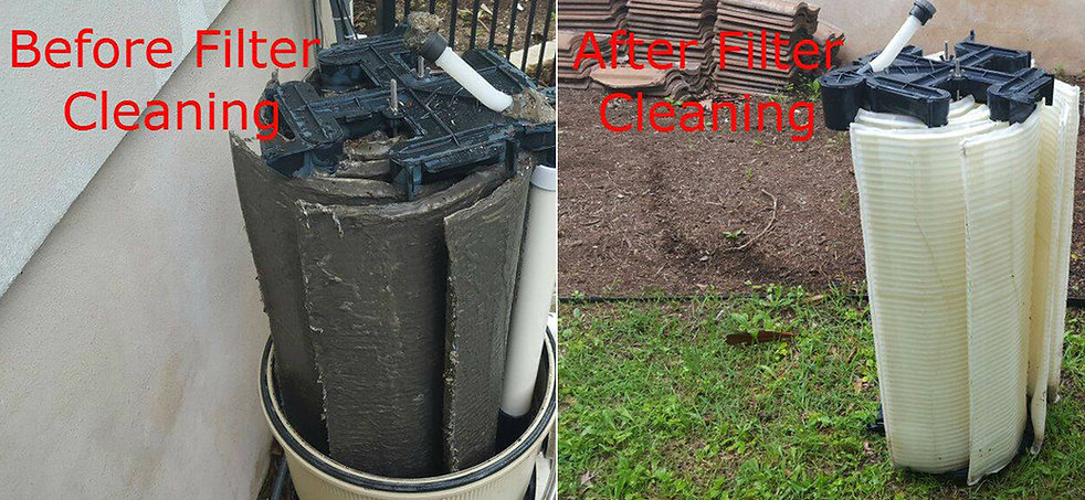 Austin pool filter cleaning