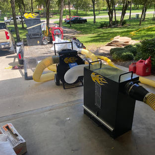 Insulation Vacuum that saves our client's money.