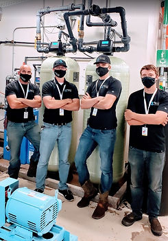 leander water softener team