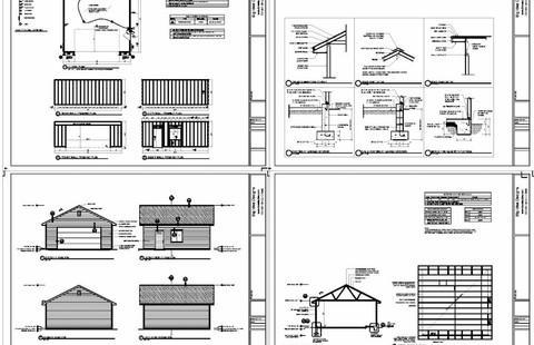 Door Garage Floor Plan