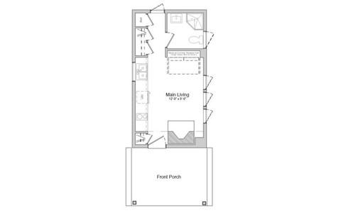 Exterior and Interior Floor Plan