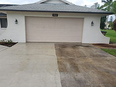 CAPE CORAL FL DRIVEWAY CLEANING