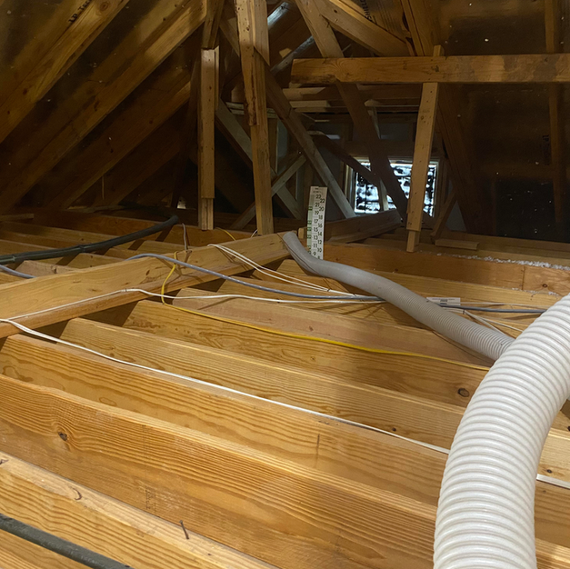 We clean out all old insulation and debris before adding new insulation.