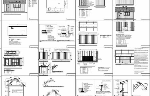 Shed Plan Examples
