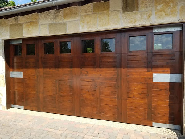 Georgetown TX Custom Wood Garage Door