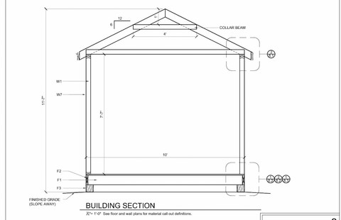 Shed Heigh Plan