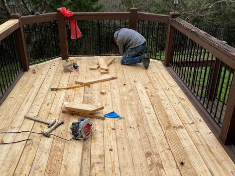 Deck Painting and Staining