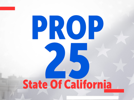 Proposition 25- CA Ballot Measures Series