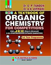 O.P. Tandon Organic Chemistry For JEE