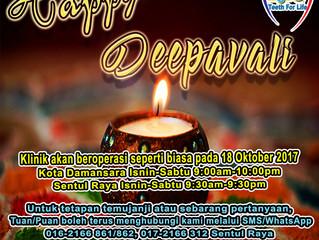 Selamat Menyambut Deepavali