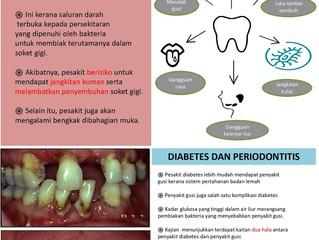 Masalah pergigian dan diabetes