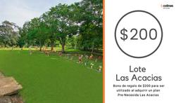 Bono Las Acacias $200