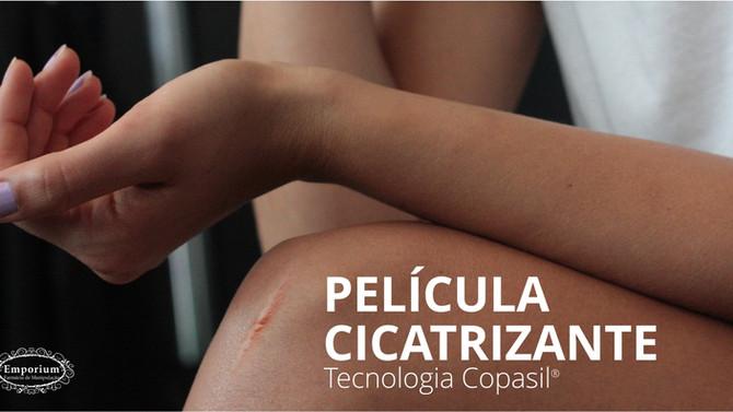 PELÍCULA CICATRIZANTE - Solução natural com tecnologia Copasil